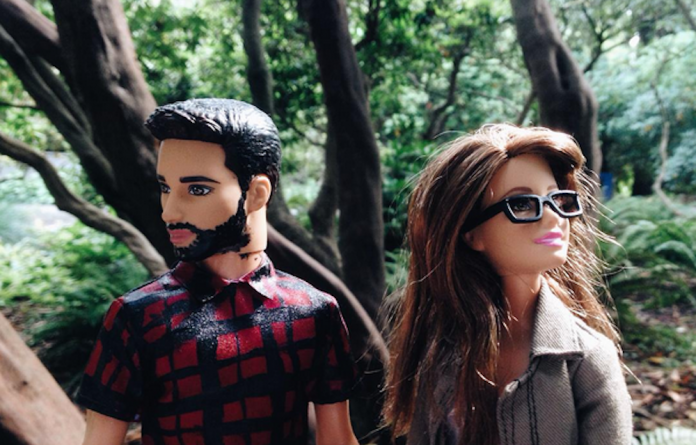 Hipster Barbie takes Instagram by storm.