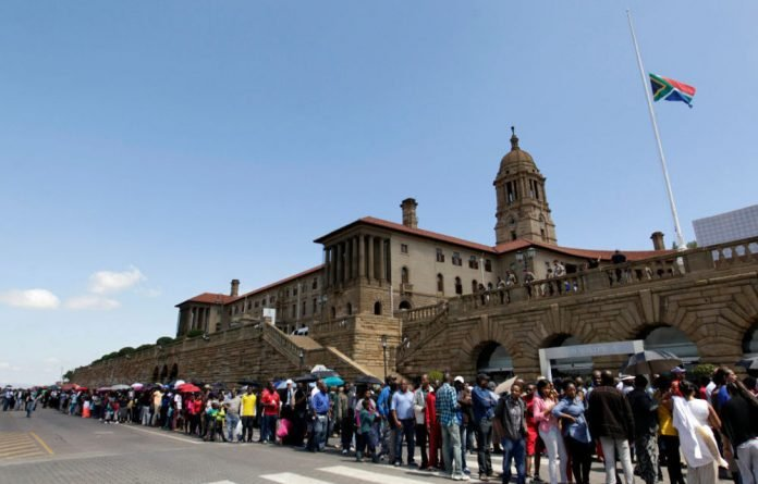 The Union Buildings in Pretoria have been added to the list of national heritage sites.
