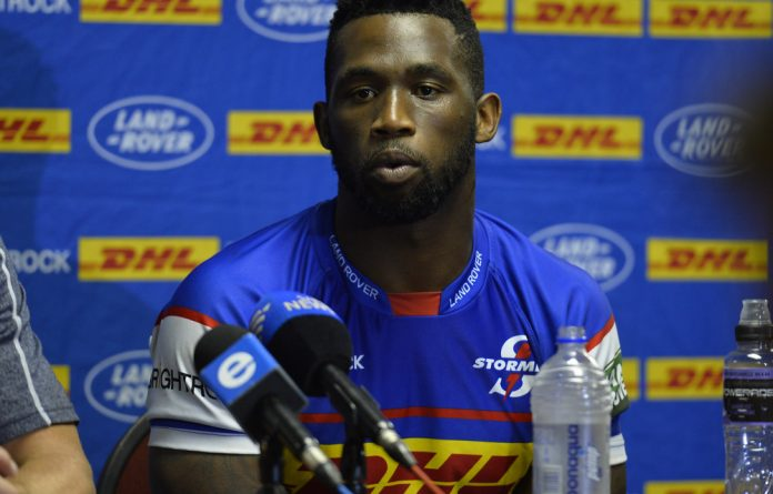 Stormers captain Siya Kolisi