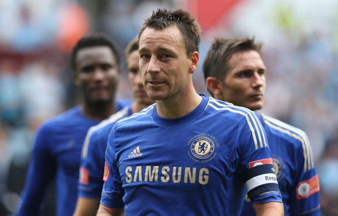 Chelsea defender John Terry.