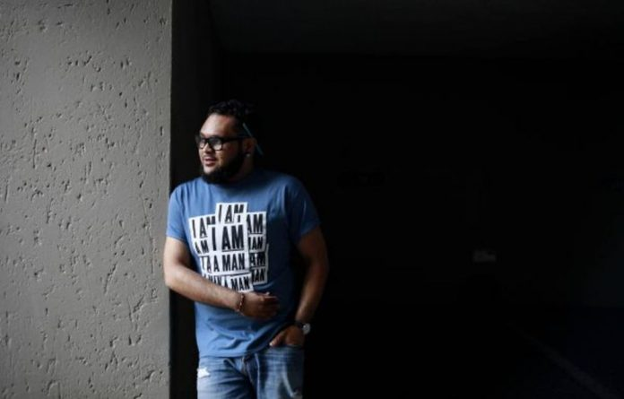 'I just felt as though saying I was affected by it would undermine what I was trying to expose' — Angelo Louw