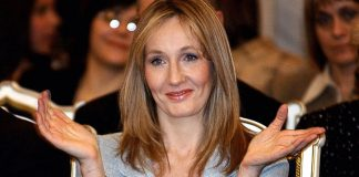 Author JK Rowling.