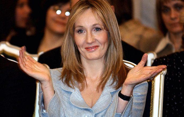 Author JK Rowling.