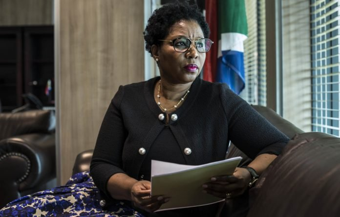 Minister Ayanda Dlodlo insists restructuring is to make the system efficient and will cut the wage bill.