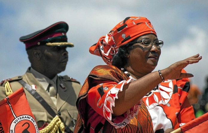 Malawi's President Joyce Banda has wrapped up her election campaigning.