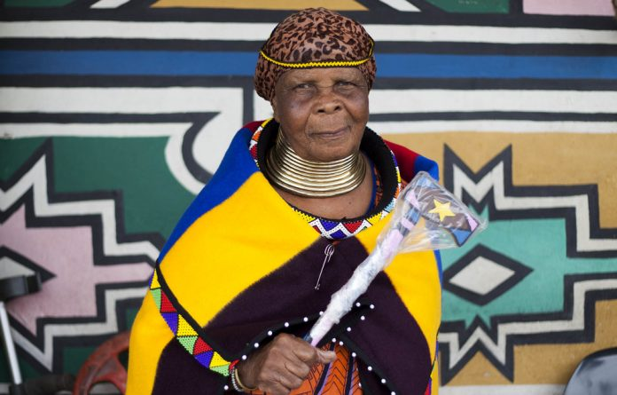 Keeping it real: Jessie Mabona preserves Ndebele culture and earns a livelihood by selling necklaces