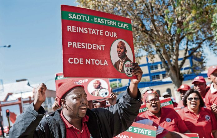 Since Thobile Ntola was ousted from the teachers' union a year ago