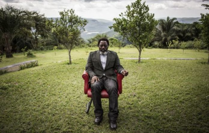Grandiose: President of the Democratic Republic of the Congo Joseph Kabila built a memorial statue and mausoleum for his father Laurent Kabila