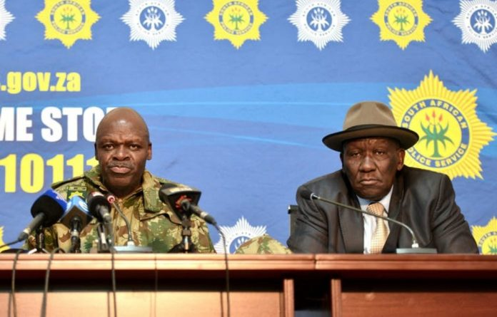South Africa's police commissioner