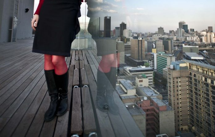 The world at your feet: Randlords sits atop the Southpoint Towers building in Braamfontein.
