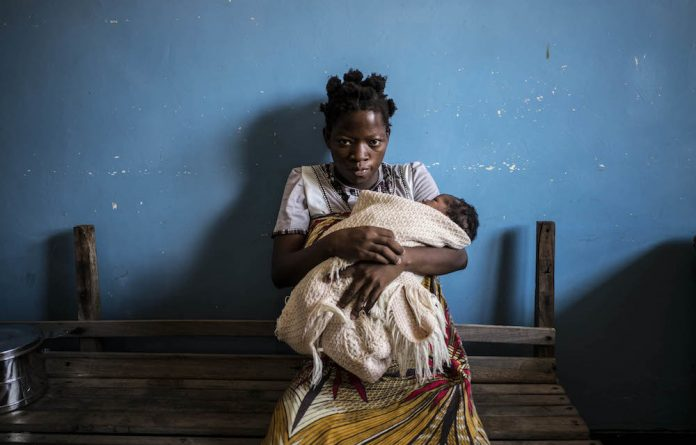 Expectant women in Malawi are instructed to bring plastic sheeting to cover the bed while they are giving birth