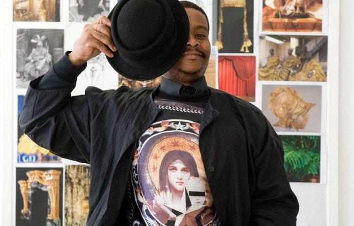 Cape Town-based artist Athi-Patra Ruga.