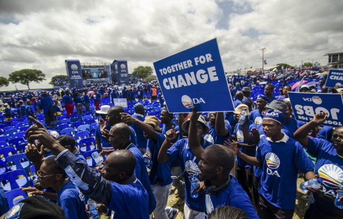 The Democratic Alliance opposed the land expropriation motion and