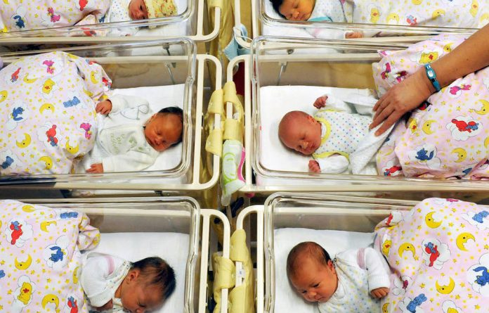 It's a ... baby! Infants get categorised as boys or girls at birth