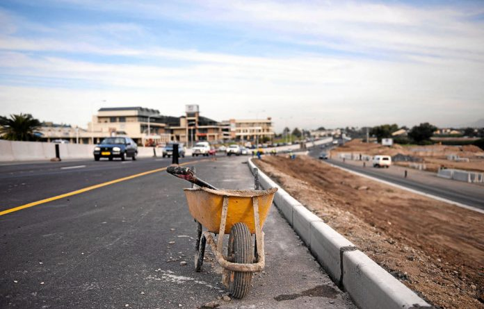 Several state infrastructure projects have been halted