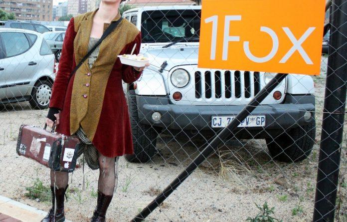 Amanda Palmer swooped through Jo'burg on a trademark improvised visit