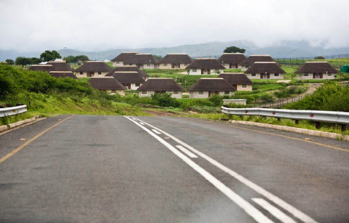 When building started at Nkandla in 2009