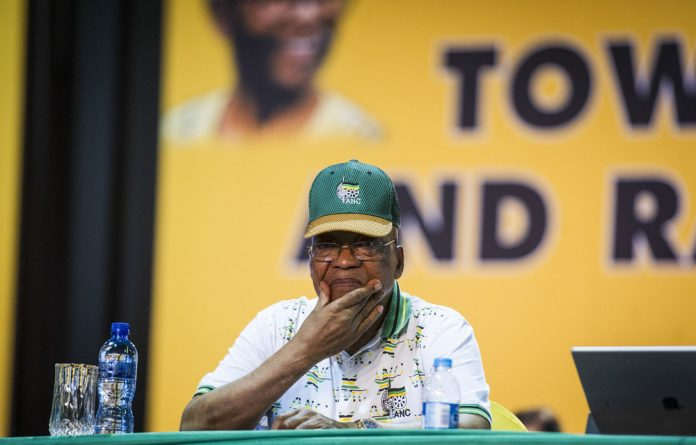 The bells may be tolling for President Jacob Zuma but it's business as usual for the embattled man from Nkandla.