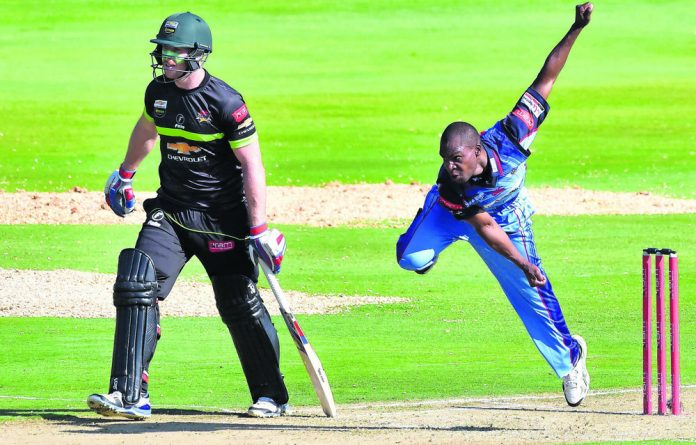 The Titans have unearthed a real talent in fast bowler Junior Dala.