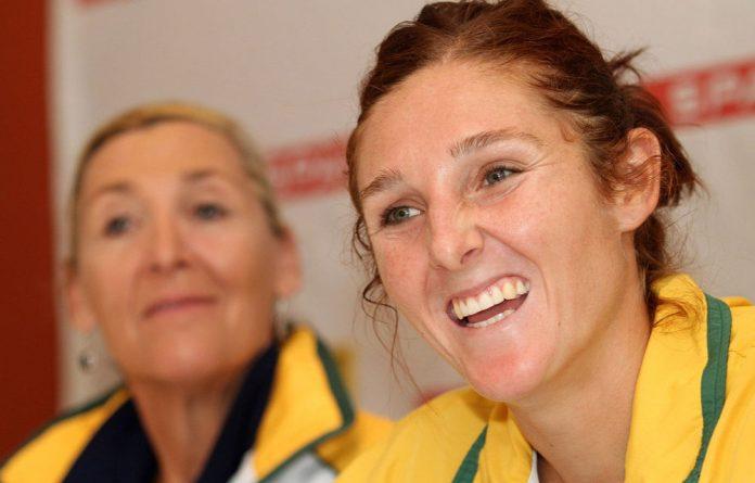 South Africa netball captain Amanda Mynhardt.
