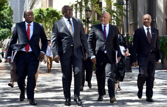 An imminent downgrade is not expected by Finance Minister Nhlanhla Nene