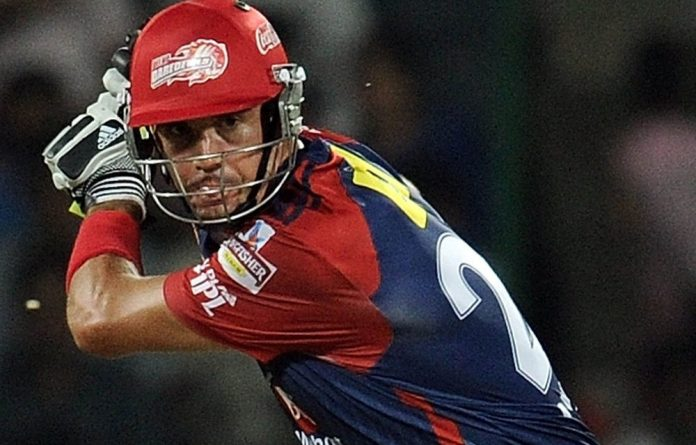 Kevin Pietersen bats for the Delhi Daredevils in the Indian Premier League.