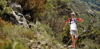 Ryan Sandes says trail running is more rewarding because he can focus on the scenery.