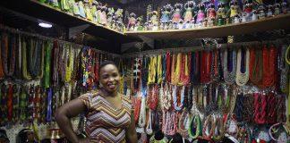 Zanele Ncube is the owner of Mazet Beadworks.