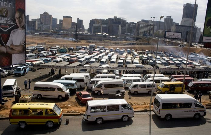 The South African National Taxi Council says taxis transport approximately 15-million commuters daily.