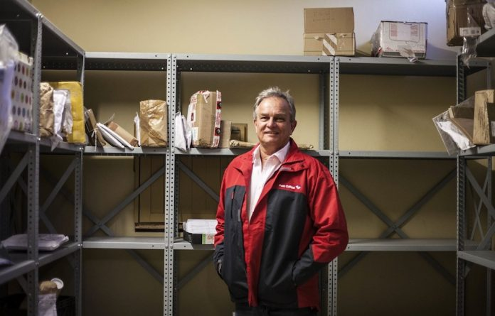 Delivery service: Mark Barnes wants to trade on the Post Office's unequalled reach throughout the country.
