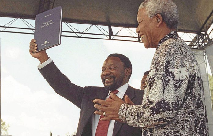 Cyril Ramaphosa was politically sidelined after the constitutional negotiations.