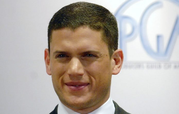 US actor and screenwriter Wentworth Miller.