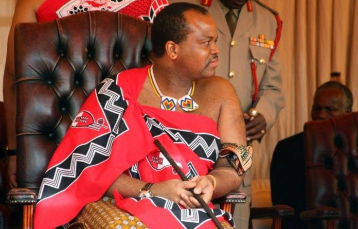 Is South African policy influenced by Jacob Zuma's personal relationship with King Mswati?