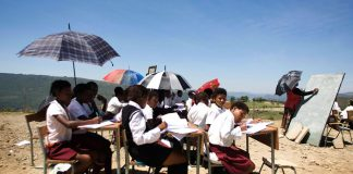 Pupils like these in the Eastern Cape