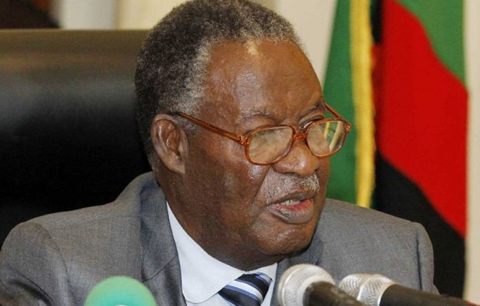 Zambia's former president Michael Sata died in office last October.