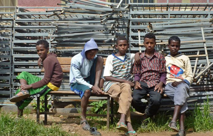 Draconian military conscription rules in Eritrea mean children as young as 12 can be forced into duty.