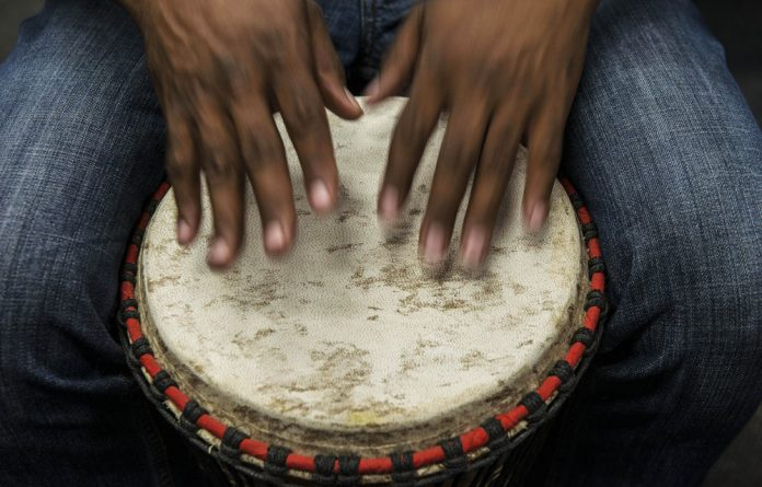 Drumming therapy can help to reduce anger and tension and increase a sense of wellbeing.
