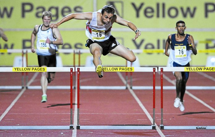 LJ van Zyl at the Yellow Pages interclub competition in Pretoria this year.