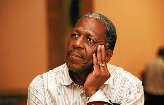 ANC treasurer general Matthews Phosa.