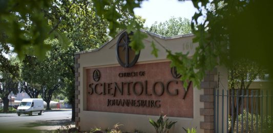 The African headquarters for the Church of Scientology in South Africa.