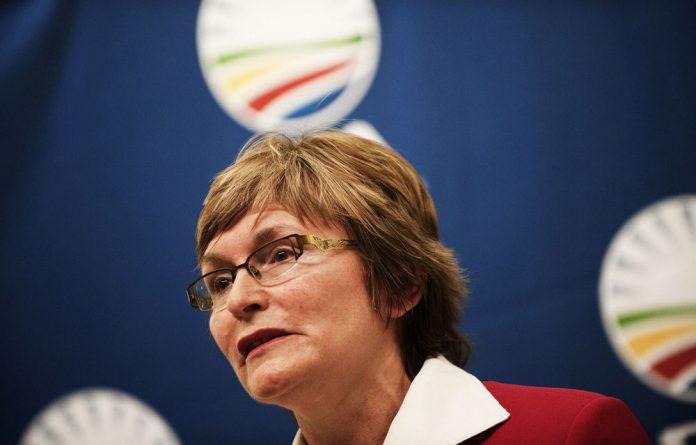 DA leader and Western Cape Premier Helen Zille.
