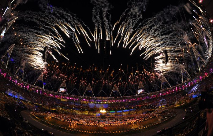 Filmmaker Danny Boyle turned the Olympic Stadium into a jukebox
