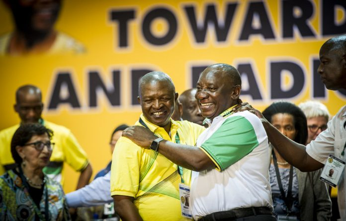 'The appointment of the two officials forms part of the changes in the presidency since Cyril Ramaphosa was elected the country's president in February'