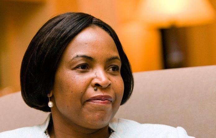 Minister of International Relations and Cooperation Maite Nkoana-Mashabane.