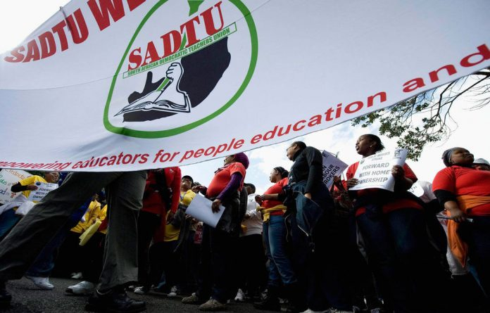 Sadtu's leadership in KZN says the provincial department of education has dismally failed to prioritise its programmes.