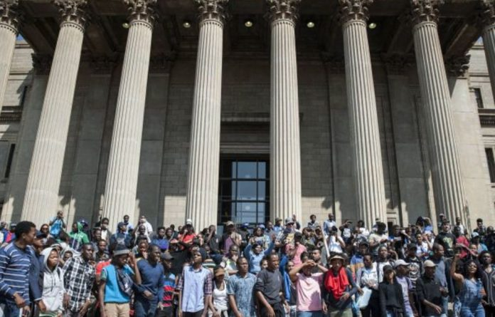 #The FeesMustFall protests showed that South Africa's youth are not as apathetic as many believe and were an alternative to political structures from which young people feel excluded.