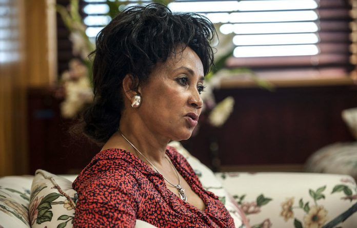Minister of International Relations and Co-operation Lindiwe Sisulu.