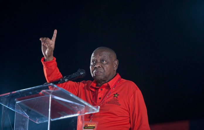 Blade Nzimande launched a scathing attack on Free State premier and ANC chair Ace Magashule