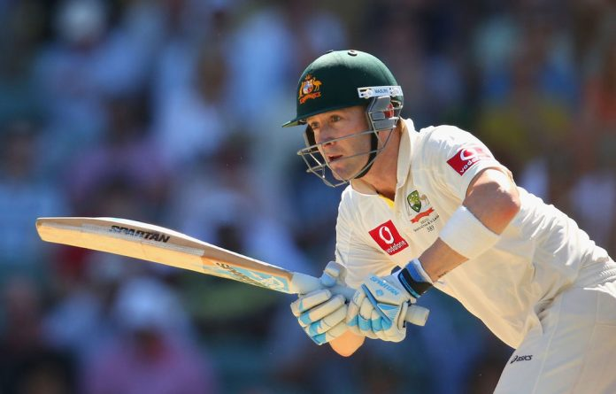 Australia's Michael Clarke backed up his unbeaten double-century in Brisbane in the second Test against the Proteas.