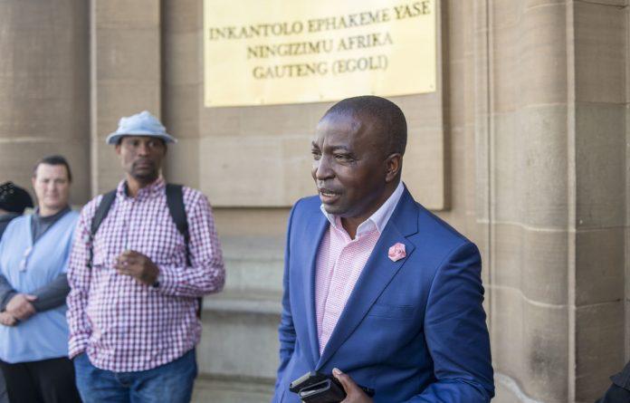 Robert Madzonga.